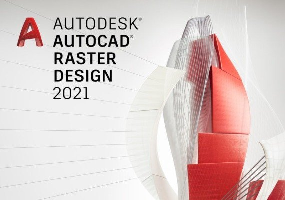 Autodesk Autocad Raster Design 2021 1 Year Windows