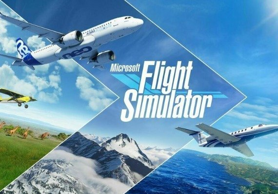 Microsoft Flight Simulator Green Gift Key EU
