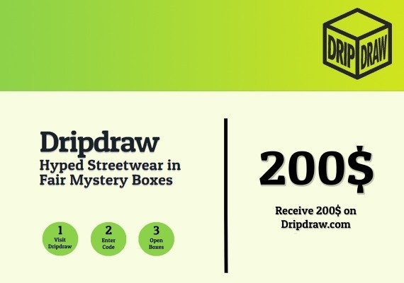 Dripdraw.com Gift Card 200 USD