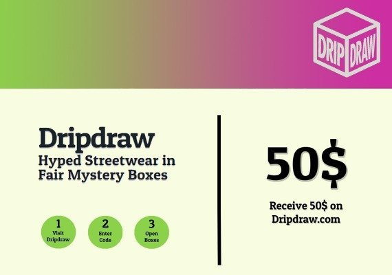 Dripdraw.com Gift Card 50 USD