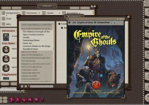 Fantasy Grounds: Empire of the Ghouls US