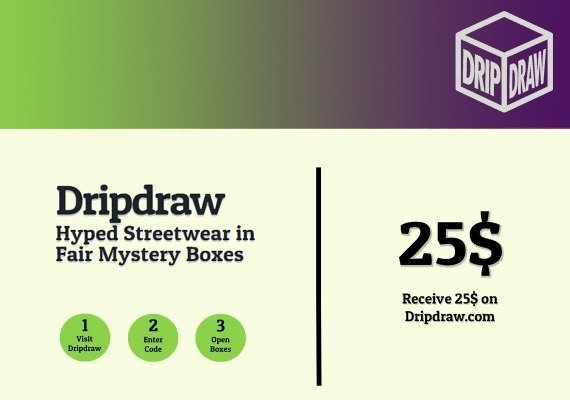 Dripdraw.com Gift Card 25 USD