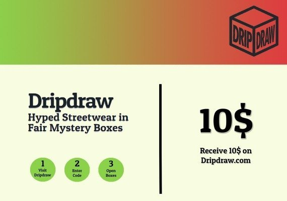 Dripdraw.com Gift Card 10 USD