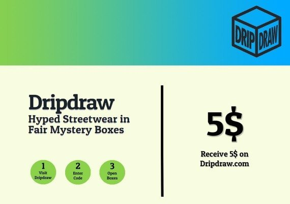 Dripdraw.com Gift Card 5 USD
