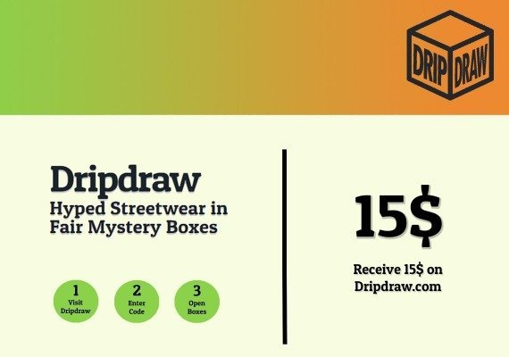 Dripdraw.com Gift Card 15 USD
